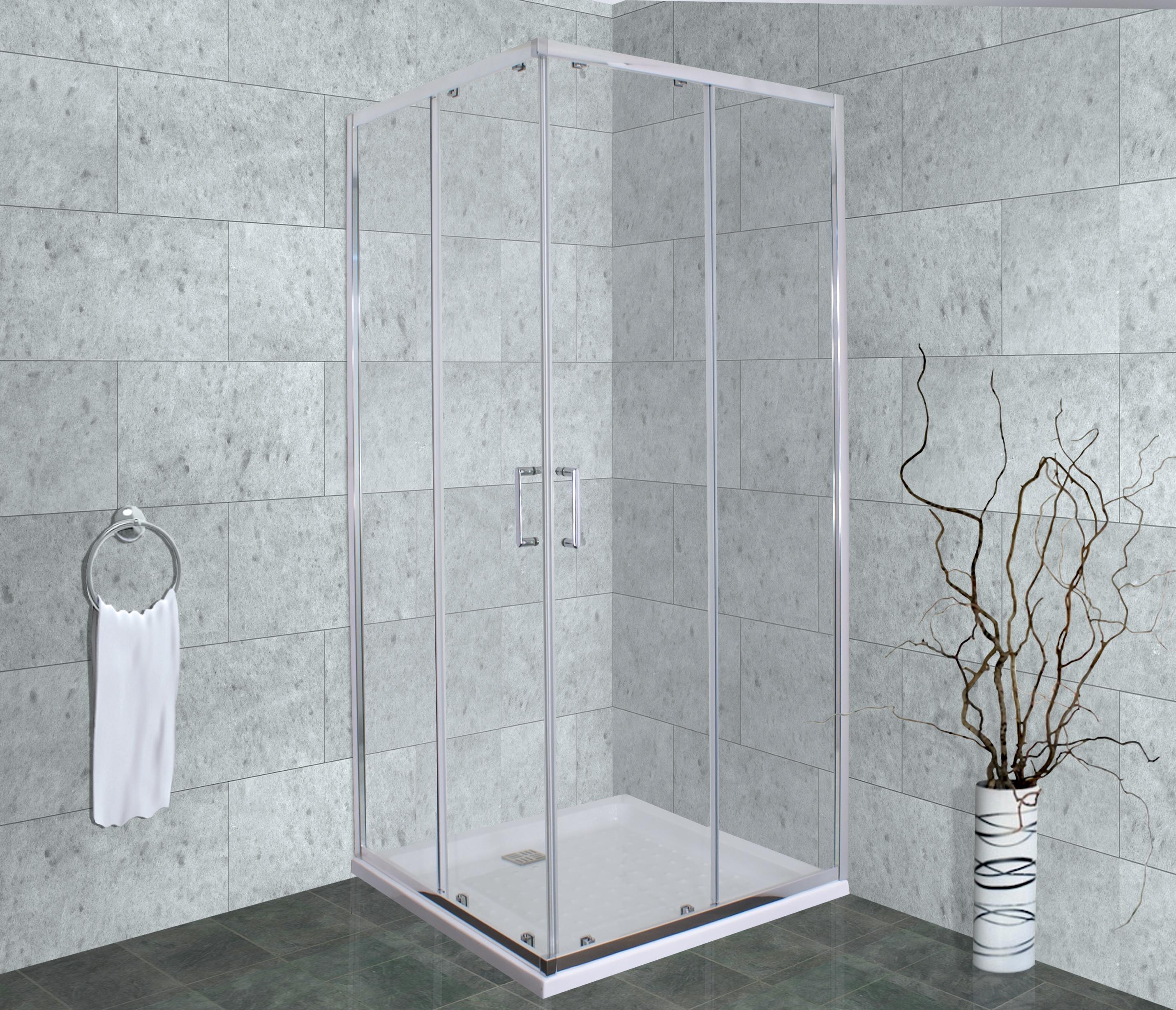 TIMO, Душевой уголок ALTTI 611 Clean Glass (100*100*190)