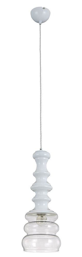 CRYSTAL LUX, Светильник подвесной BELL SP1 WHITE