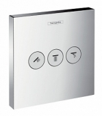 HANSGROHE, Вентиль Hansgrohe ShowerSelect Trio/Quattro 15764000 для душа