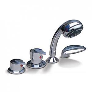 смесители на борт ванны image