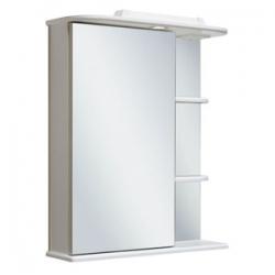 RUNO, Зеркало-шкаф Runo Магнолия 50 Белый