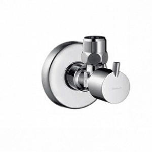 HANSGROHE, Вентиль угловой Hansgrohe S 13901000 с рукояткой