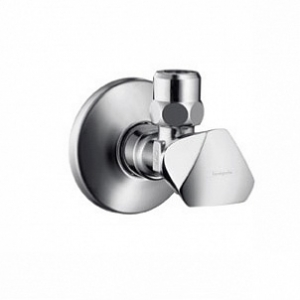 HANSGROHE, Вентиль угловой Hansgrohe Metropol E 13902000 с рукояткой